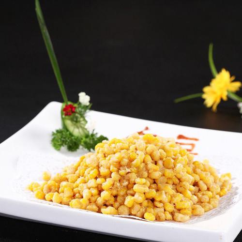 在家可做的金沙玉米