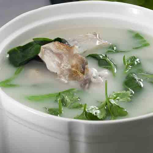简单的青菜豆腐汤
