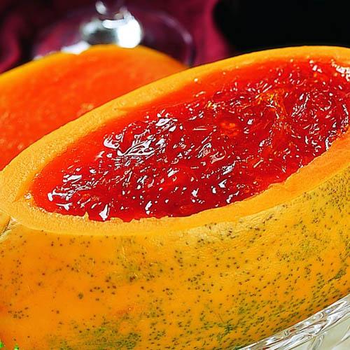 家常雪蛤炖木瓜