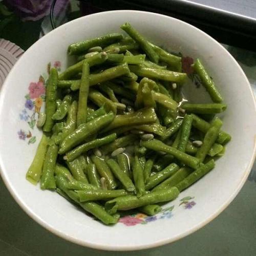 懒人版-清炒豆角