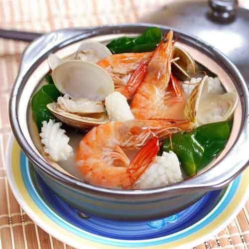 海鲜火锅(懒人版)