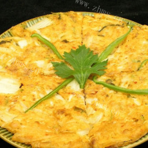好吃的韩国泡菜饼
