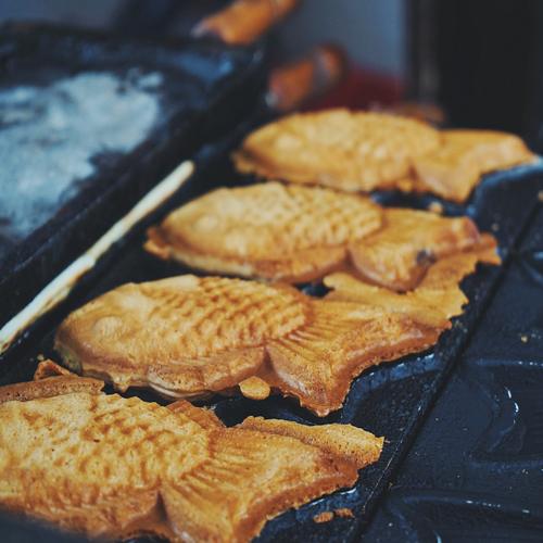 美味的鲷鱼烧