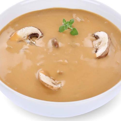 简单美味的蘑菇汤