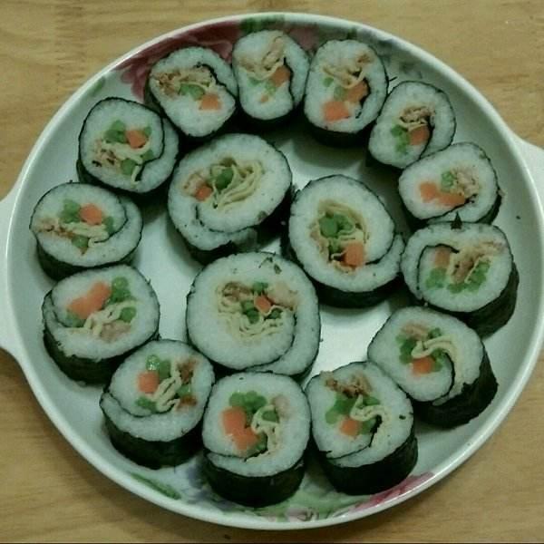 营养美味寿司卷