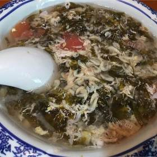 番茄紫菜汤