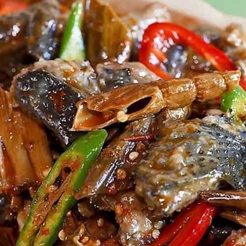 川菜辣子鱼块