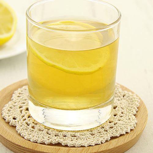 健康的柠檬绿茶