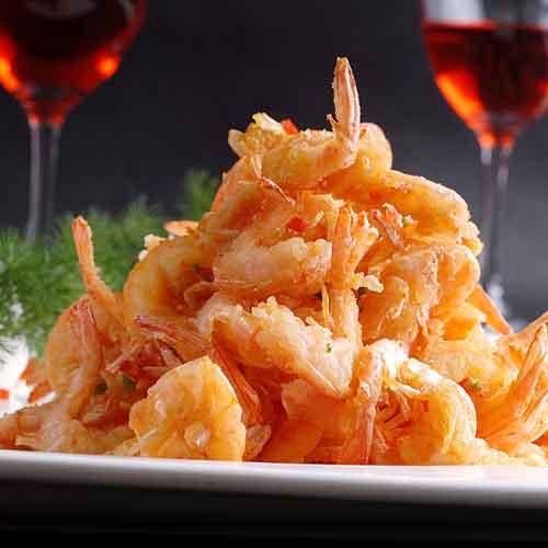 最爱的椒盐虾