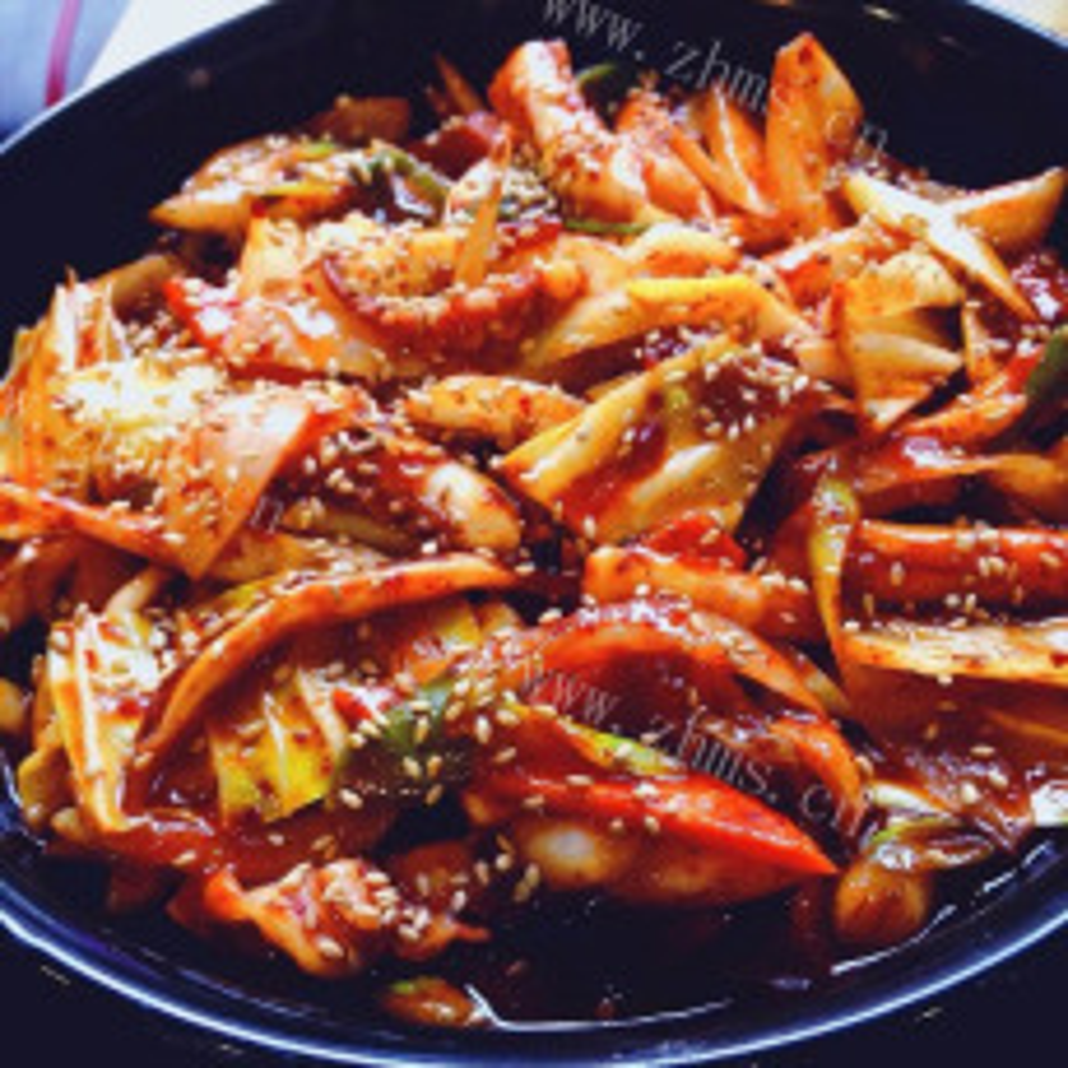 鲜香辣炒章鱼