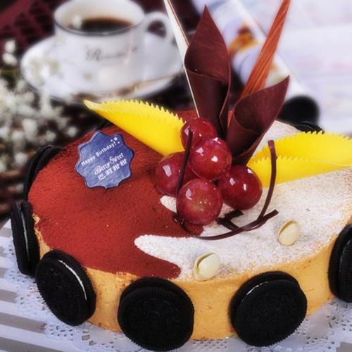 简单版巧克力慕斯蛋糕