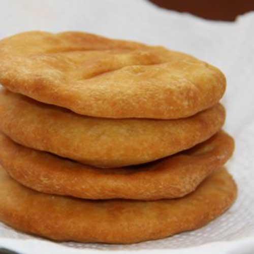 美味可口的油饼