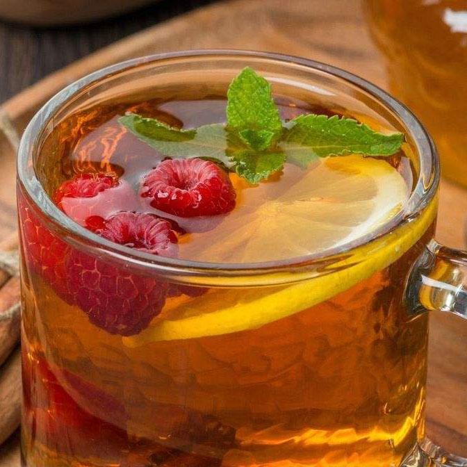 速饮的柠檬红茶