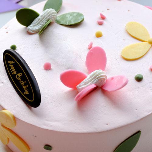 家常版蓝莓奶油蛋糕