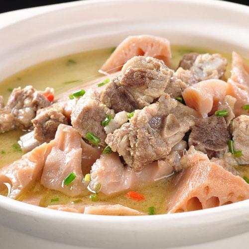 家常山药薏米排骨汤