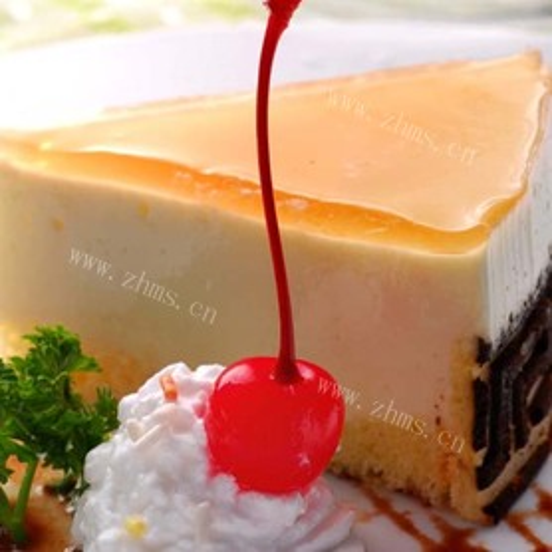 美味的酸奶蛋糕