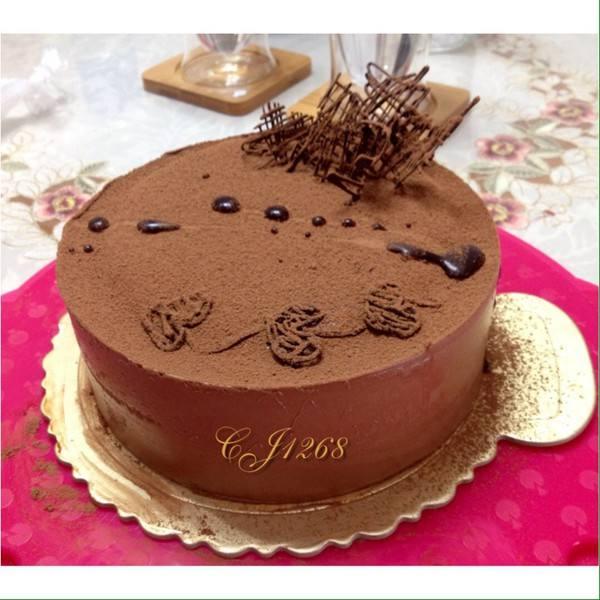 西式巧克力慕斯蛋糕