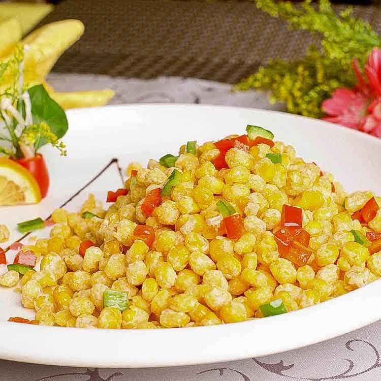 自制椒盐玉米的做法