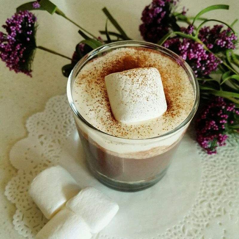 香浓可口巧克力牛奶