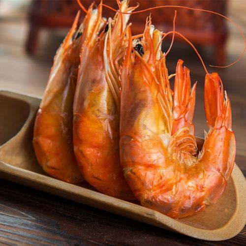 可口的烤对虾