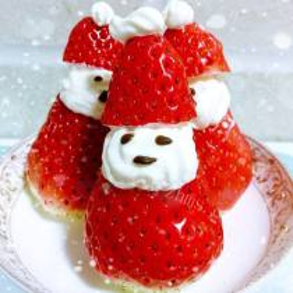 草莓圣诞老人