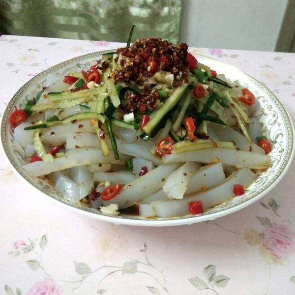 开胃的豌豆凉粉