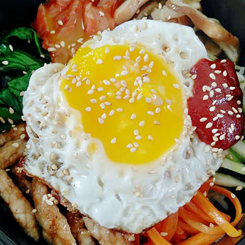 最爱的韩式拌饭