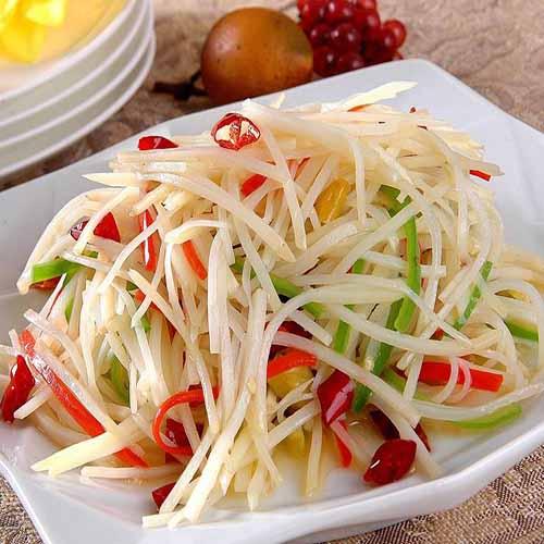 【下饭菜】醋熘土豆丝