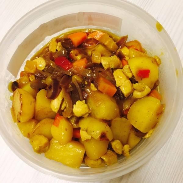 美美厨房之咖喱土豆