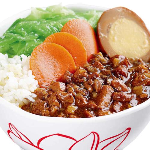 美味可口的台湾卤肉饭