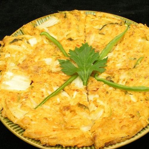 香辣韩国泡菜饼