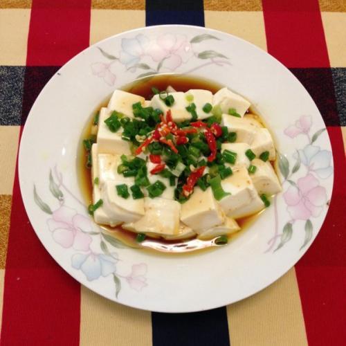 家常菜拌豆腐
