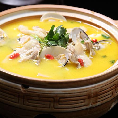 家常版海蛎子炖豆腐