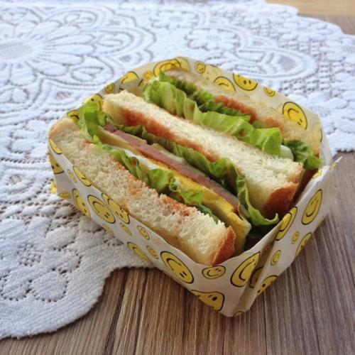 南瓜鸡蛋沙拉三明治