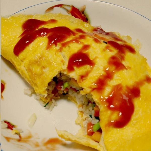 营养韩国蛋包饭
