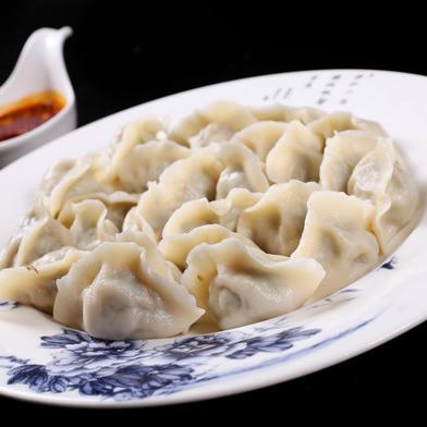 手工韭菜猪肉水饺