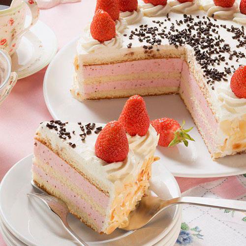 简单的蓝莓奶油蛋糕