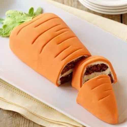 爽口的胡萝卜蛋糕