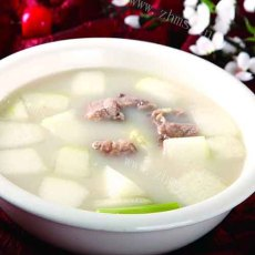 健康绿豆冬瓜排骨汤