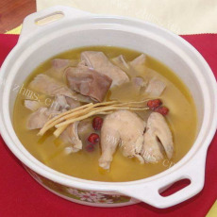 家常猪肚汤