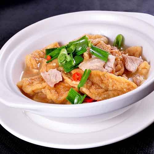 香辣的油豆腐