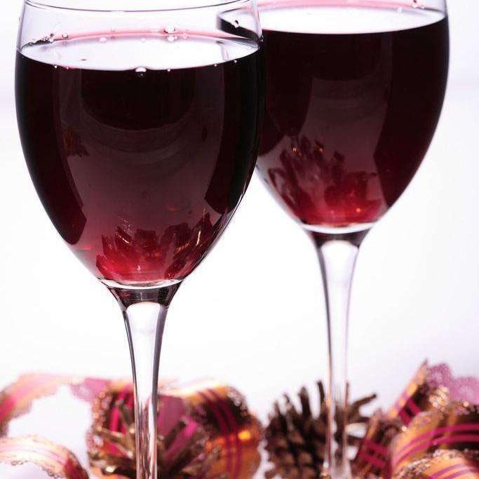 美味红葡萄酒