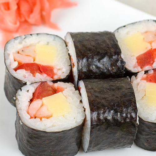 【DIY美食】寿司卷