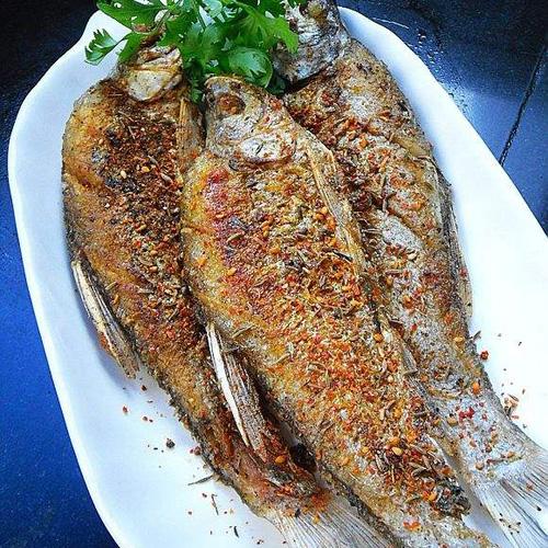 简单烤箱烤鱼