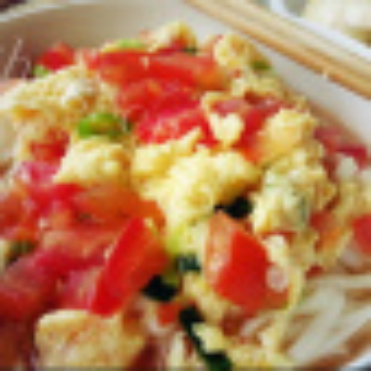 简单的番茄鸡蛋面