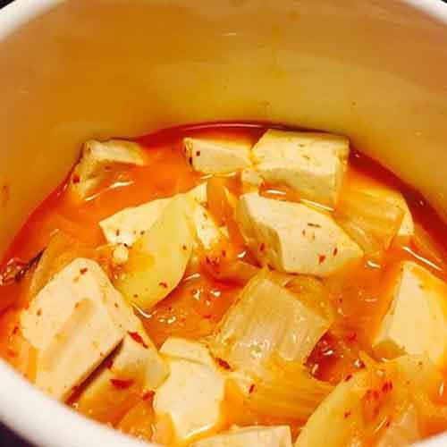 好吃的韩国泡菜锅