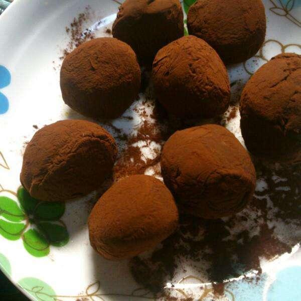 【DIY美食】松露巧克力