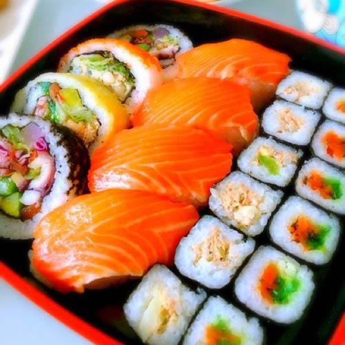 简单的美味寿司卷