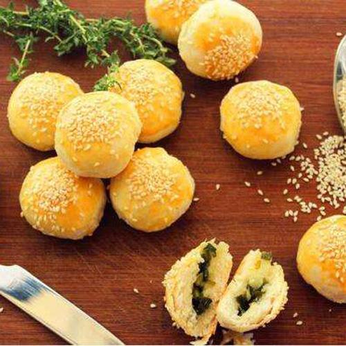 酥脆蟹壳黄