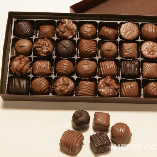 好看又好吃的爱心巧克力